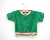Vintage-terry-cloth-nautical-green-shirt