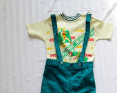 New-1970s-vintage-overalls-set-boys-size