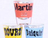 1950s-shot-glasses-with-cocktail-recipes