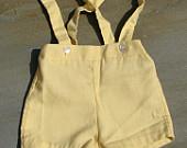 1950s-vintage-boys-shorts-yellow-size-l
