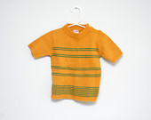 Vintage-1960s70s-short-sleeve-striped